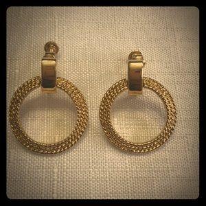 Vintage Napier Clip Earrings